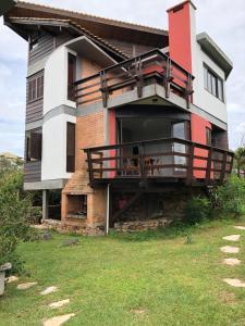 Residencial Casa Santinho, Penzióny  Florianópolis - big - 6