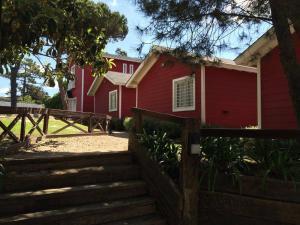 Cabanas Rojas, Chaty  Villa Gesell - big - 1