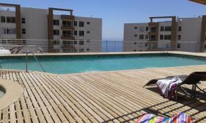 Apartamento Condominio Siete Mares, Apartmanok  Viña del Mar - big - 8