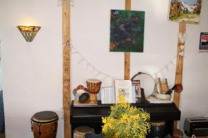 La petite étoile d'hôtes en Mercantour, B&B (nocľahy s raňajkami)  Saint-Dalmas-le-Selvage - big - 43