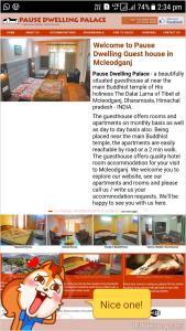 Hotel pause dwelling palace