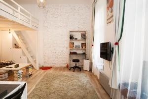 Budapest Central, The Book Room, Apartmány  Budapešť - big - 24