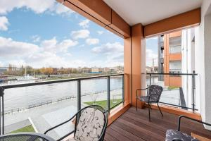 Blue Mandarin Riverside, Apartmány  Gdaňsk - big - 104
