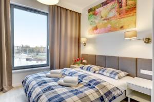 Blue Mandarin Riverside, Apartmány  Gdaňsk - big - 108