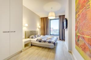 Blue Mandarin Riverside, Apartmány  Gdaňsk - big - 112
