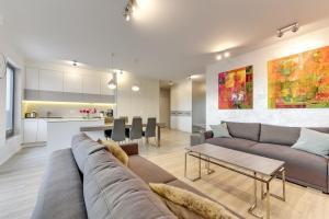 Blue Mandarin Riverside, Appartamenti  Danzica - big - 114