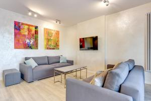 Blue Mandarin Riverside, Apartmány  Gdaňsk - big - 115