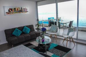 Edificio Club Oceano, Ferienwohnungen  Coquimbo - big - 9