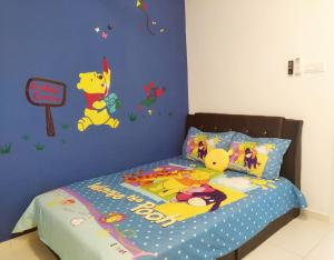 Cartoon Wonderland Family Suite, Ferienwohnungen  Bayan Lepas - big - 11