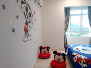 Cartoon Wonderland Family Suite, Ferienwohnungen  Bayan Lepas - big - 10