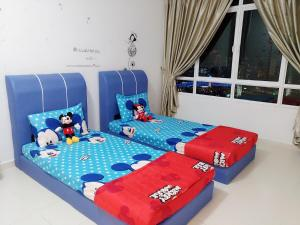 Cartoon Wonderland Family Suite, Ferienwohnungen  Bayan Lepas - big - 9