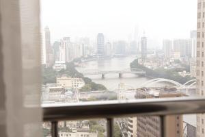 iHotel Apartment Guangzhou Folk Financial Mansion Branch, Apartmány  Kanton - big - 7