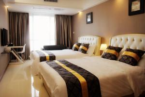 iHotel Apartment Guangzhou Folk Financial Mansion Branch, Appartamenti  Canton - big - 8