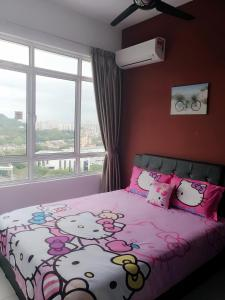 Cartoon Wonderland Family Suite, Ferienwohnungen  Bayan Lepas - big - 2