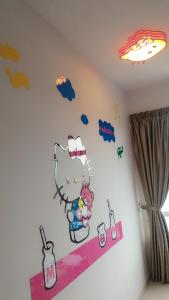 Cartoon Wonderland Family Suite, Ferienwohnungen  Bayan Lepas - big - 6