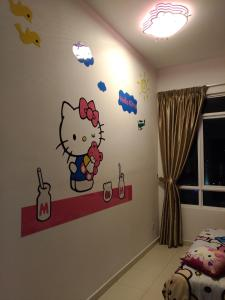 Cartoon Wonderland Family Suite, Ferienwohnungen  Bayan Lepas - big - 5