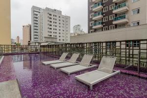 Vistastay Studio Business II Itaim, Ferienwohnungen  São Paulo - big - 27