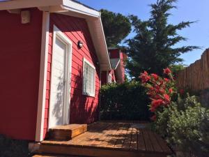 Cabanas Rojas, Chaty  Villa Gesell - big - 23