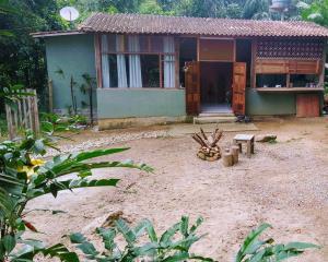 Casa do Bambu Amarelo, Проживание в семье  Парати - big - 7