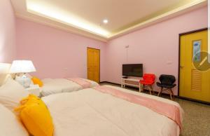 Sweet Home, Privatzimmer  Dongshan - big - 17
