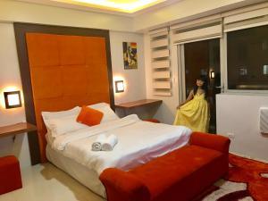 Studio type with free wifi, Apartments  Manila - big - 15