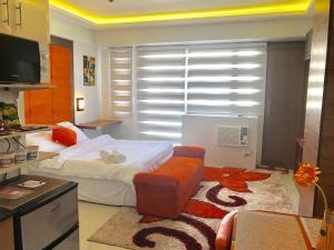 Studio type with free wifi, Apartments  Manila - big - 18