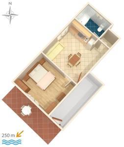 Apartment Tribunj 7117b, Apartmány  Tribunj - big - 23