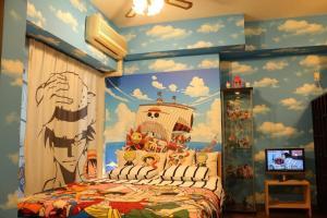 Jin Apartment in Osaka 406, Ferienwohnungen  Osaka - big - 11