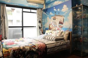 Jin Apartment in Osaka 406, Апартаменты  Осака - big - 6