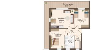 Haus Baltic Cube, Apartmány  Börgerende-Rethwisch - big - 1