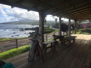 Ocean front artist loft, Holiday homes  Hanga Roa - big - 7