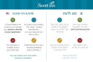 Sweet Inn - Smats Street, Apartments  Jerusalem - big - 55