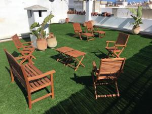 Appartement de luxe avec jardin privé., Ferienwohnungen  Casablanca - big - 3