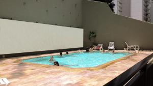 Copacabana Apart Hotel, swimming pool and Gym, Aparthotely  Rio de Janeiro - big - 8