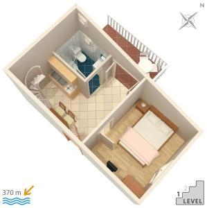 Apartment Vinisce 4886c, Apartmanok  Vinišće - big - 21