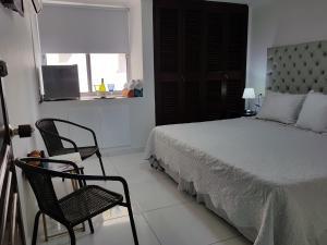 Espectaculares Vistas, Edificio Nautilus, Barrio El Laguito., Апартаменты  Картахена - big - 98