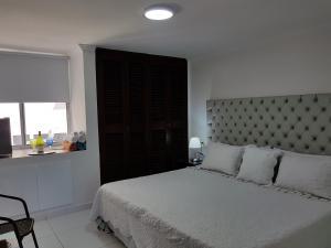 Espectaculares Vistas, Edificio Nautilus, Barrio El Laguito., Апартаменты  Картахена - big - 91