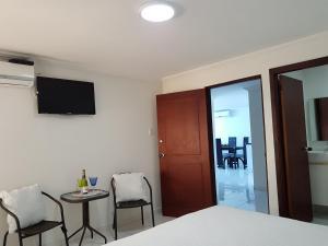 Espectaculares Vistas, Edificio Nautilus, Barrio El Laguito., Апартаменты  Картахена - big - 81