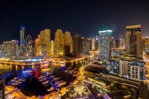 Two Bedroom Apartment with Sea View - Manchester Tower - Dubai