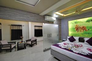 Daksh Hotel And Restaurant, Hostelek  Sasan Gir - big - 48