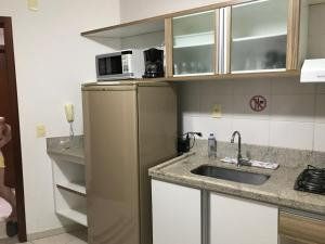 Flat em Caldas Novas, Apartmanok  Caldas Novas - big - 33