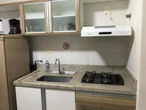 Flat em Caldas Novas, Apartmanok  Caldas Novas - big - 8