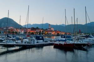 Sunrise in Baveno