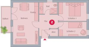 Ferienwohnungen Rosengarten, Апартаменты  Бёргеренде-Ретвиш - big - 47