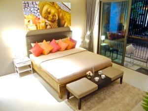 Emerald: Studio in Patong, Apartmanok  Patong-part - big - 5