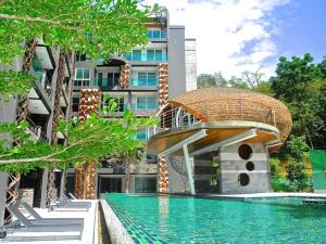 Emerald: Studio in Patong, Apartmanok  Patong-part - big - 11