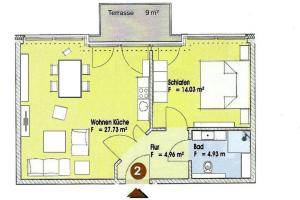 Villa Calm Sailing, Апартаменты  Бёргеренде-Ретвиш - big - 23