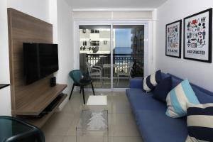 Rio138-Apartamento de 2 quartos no Wave Ipanema. Predio com piscina, academia..., Aparthotels  Rio de Janeiro - big - 7