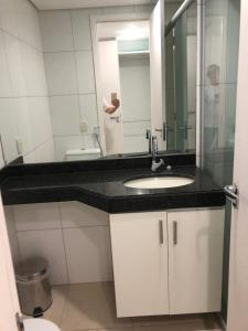 Portal Meireles 402, Апартаменты  Форталеза - big - 4