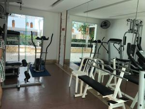 Portal Meireles 402, Апартаменты  Форталеза - big - 10